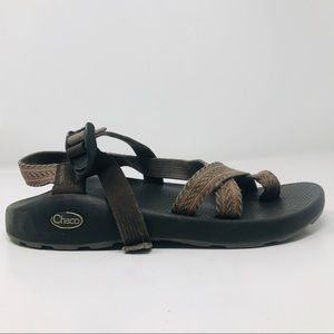 Chaco sandals M 9 Brown and black B6